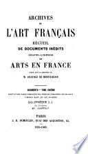 Archives de l'art français