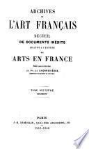 Archives de l'art français