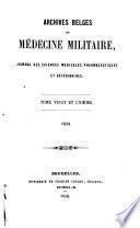 Archives de médecine militaire