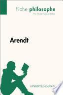 Arendt (Fiche philosophe)