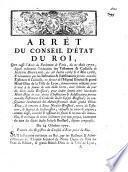 Arret du Conseil d'Etat du Roi, qui casse l'arret du Parlament de Paris du 21 aout 1770 lequel ordonnoit l'execution des testament ...