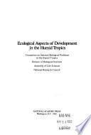 Aspectos Ecol_gicos Del Desarrollo en Las Zonas Tropicales H_medas
