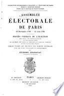 Assemblée électorale de Paris, 18 novembre 1790-15 juin 1791