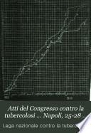Atti del Congresso contro la tubercolosi ... Napoli, 25-28 aprile 1900