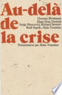 Au-delà de la crise