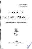 Auctarium Bellarminianum