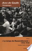 Avec de Gaulle