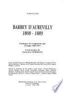 Barbey d'Aurevilly, 1808-1889
