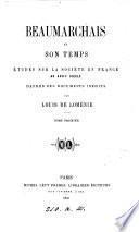 Beaumarchais et son temps