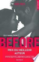 Before Saison 1 - Prix du meilleur auteur Festival New Romance 2016