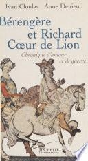 Bérengère et Richard Cœur de Lion