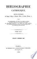 Bibliographie catholique
