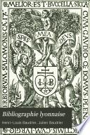 Bibliographie lyonnaise