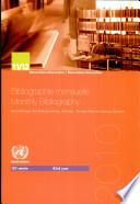 Bibliographie Mensuelle: Monthly Bibliography