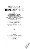 Bibliographie romantique