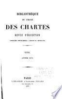 Bibliothèque de l'Ecole des chartes