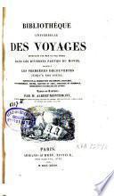 Bibliothèque Universelle des Voyages