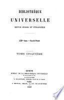 Bibliothèque universelle