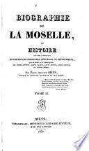 Biographie de la Moselle, ou