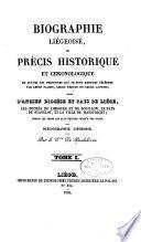 Biographie liégeoise