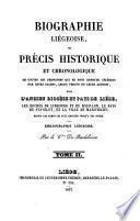 Biographie liègeoise
