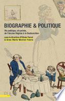 Biographie & Politique