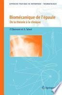Biomécanique de l'épaule