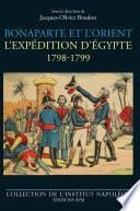 Bonaparte et l'Orient