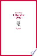 Booklet Rentrée Littéraire 2013
