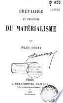 Bréviaire de l'histoire du matérialisme