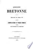 Bulletin archéologique de l'Association bretonne