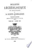 Bulletin archeologique et historique