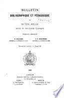 Bulletin bibliographique et pedagogique du Musée belge