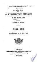 Bulletin bibliographique