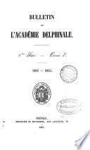 Bulletin de L'Academie Delphinale 2e Serie-Tome 3 1862-1863