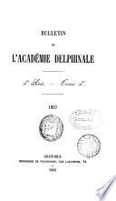 bulletin de l'academie delphinale 3e serie tome 3e