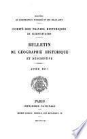 Bulletin de la Section de géographie