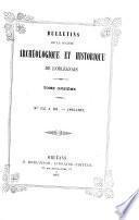 Bulletin de la societe archeologique et historique de l'orleanais