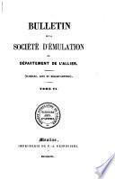 Bulletin de la Société d'Emulation du Département de l'Allier