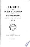 Bulletin de la Société d'Emulation du Département de l'Allier0