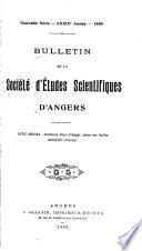 Bulletin de la Société d'études scientifiques d'Angers