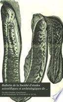 Bulletin de la Société d'etudes scientifiques et archéologiques de Draguignan et du Var