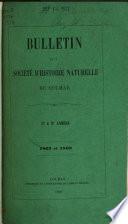 Bulletin de la Société d'histoire naturelle de Colmar
