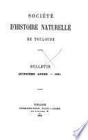 Bulletin de la Société d'histoire naturelle de Toulouse