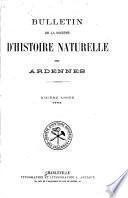 Bulletin de la Société d'histoire naturelle des Ardennes