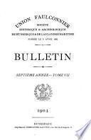 Bulletin de la Société de géographie de Dunkerque