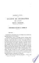 Bulletin de la Société de Géographie de Lyon et de la Région Lyonnaise