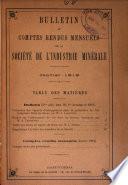 Bulletin de la Société de l'industrie minérale