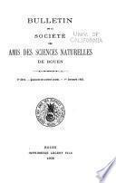 Bulletin de la Société des amis des sciences naturelles de Rouen