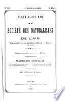 Bulletin de la Société des naturalistes et des archéologues de l'Ain